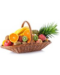 'Fruit Island' Basket
